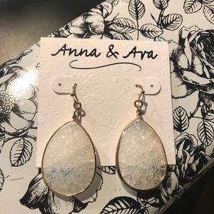 Anna & Ava Crystal Earrings